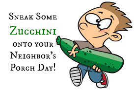porch clipart sneak some zucchini onto your neighbor u0027s porch day august