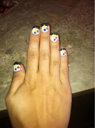 majesstic nails steelers nails