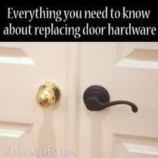 Replacing Interior Door Knobs Updating Interior Doors By Installing New Doorknobs Interior