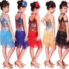 girls latin dress children u0027s dancewear ebay