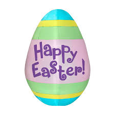 Outdoor Easter Decorations by Shop J Marcus Inflatable Easter Egg Outdoor Easter Decorations At
