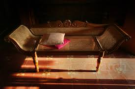 the design enthusiast chettinad u0027s wood and cane daybed