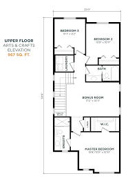arts and crafts floor plans bayview u2013 alder 313 bayview way sw genesis builders group inc