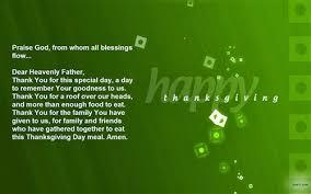 thanksgiving prayers blessings praise meal often a