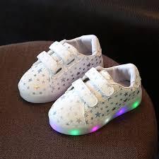 light up tennis shoes for kids girls baby led boys light up sports shoes glitter luminous