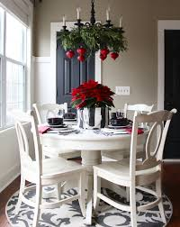 Kitchen Table Setting Ideas Christmas Dining Room Tableetting