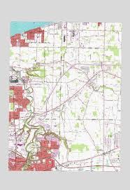 avon ohio map avon oh topographic map topoquest