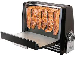 Toaster Machine A Toaster Just For Bacon Will Make Every Meal So Much Better