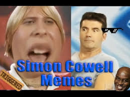Simon Cowell Meme - try not to laugh simon cowell meme edition youtube