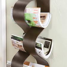decorative single toilet paper cover furniture wall mounted magazine rack organizer spinning mount