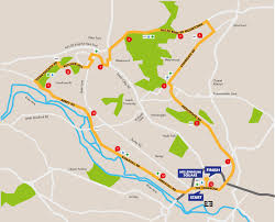 Map Run Route by Race Route Inc Full Course Breakdown Leeds Half Marathon Run