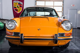 porsche signal yellow 1970 porsche 911t signal orange exceptional road scholars