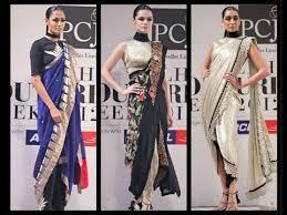 Fish Style Saree Draping 11 Casual Ways To Drape A Saree Saree Dhoti Saree And Saree