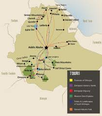 Spirit Route Map by Unique Ethiopia Holidays U0026 Tours Travel The Unknown