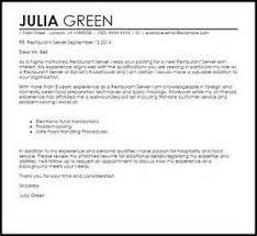 sample resume for restaurant server restaurant waitress skills