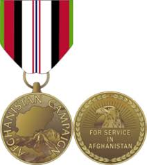 afghanistan ribbon afghanistan caign medal