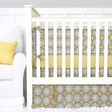 Gray And Yellow Crib Bedding Vintage Gray Yellow Crib Bedding Set By Caden