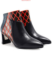 Shoo Zink united zink mid height ankle boots multi coloured grossister p礇