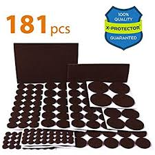 amazon com 76 pack floor protector pads sports outdoors
