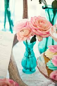 turquoise wedding pink and turquoise wedding theme weddings by lilly
