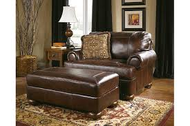 Oversized Armchair With Ottoman Axiom Oversized Chair Ashley Furniture Homestore