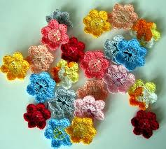 button flowers diy pretty crochet flowers with buttons
