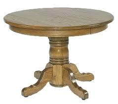 solid wood pedestal kitchen table wood pedestal dining table lesdonheures com