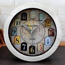 popular desk clock antique buy cheap desk clock antique lots from