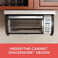 Microwaves That Mount Under A Cabinet by Amazon Com Black Decker Spacemaker Under Counter Toaster Oven