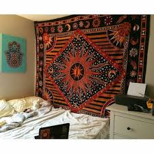 Bedroom Tapestry Wall Hangings Multicolor Celestial Sun Moon U0026 Planets Tapestry Tapestry Wall