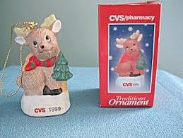 cvs traditions 1999 reindeer ornament
