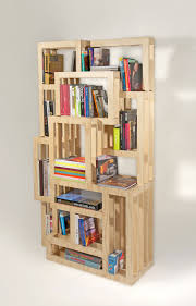 Wood Shelves Designs by Homemade Bookshelves Ideas Awesome Modern Minimalist Wooden