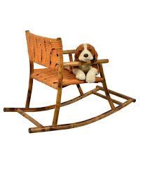 Bamboo Rocking Chair Exclusivelanekids Rocking Chair In Bamboo Orange Buy