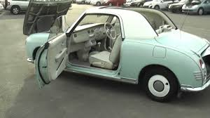 nissan figaro nissan figaro emerald green for sale edward lee u0027s youtube