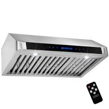 36 Under Cabinet Range Hood Stainless Steel Akdy 36 In Under Cabinet Range Hood In Stainless Steel With Touch