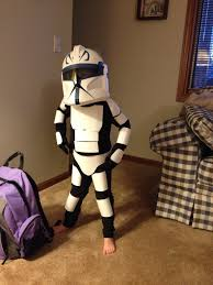 toilet paper halloween stormtrooper body armor made from toilet paper tubes cereal boxes