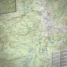 Pct Oregon Map by Three Sisters Wilderness Adventure Map Bend Trails Gear