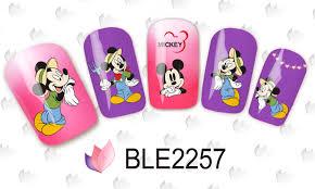 aliexpress com buy 1 sheet nail sticker ble2253 red cartoon nail