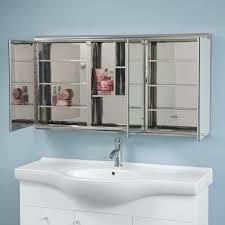 tri fold medicine cabinet hinges tri fold mirror medicine cabinet h recessed or surface mount tri