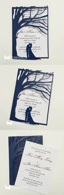 best 25 tree wedding invitations ideas on diy wedding