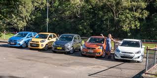 micro car comparison holden spark v kia picanto v mitsubishi