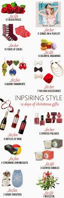 inspiring style 12 days of gifts oh to be a muse