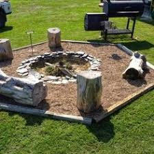 Gravel Fire Pit Area - edging around our fire pit u2026 pinteres u2026