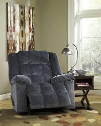 ludden blue power rocker recliner 8110598 power recliner