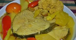 membuat nasi goreng cur telur amie s little kitchen singgang telur ikan tenggiri dengan nanas