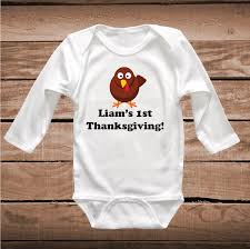 custom turkey shirt tees thanksgiving baby clothes turkey t