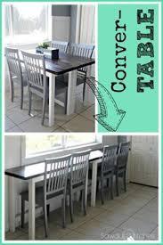 desk dining table convertible diy convertible desk space saving idea tiny houses desk space