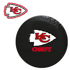 Kansas City Chiefs Bathroom Accessories by Kansas City Chiefs Nfl Spare Tire Cover And Grille Logo Set Large
