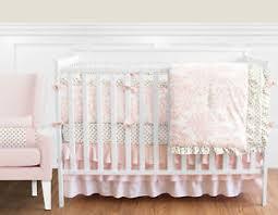 Pottery Barn Ruffle Crib Skirt Damask Crib Bedding Ebay