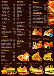 menu card templates restaurants menu templates free lease to buy agreement template